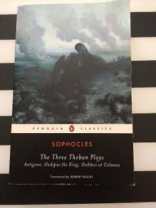 Sophocles The Three Theban Plays
