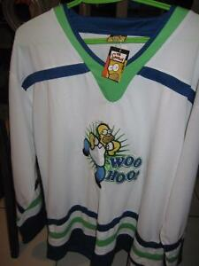 The Simpsons Hockey Jersey- Never worn Windsor Region Ontario image 1