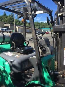 Mitsibushi Forklift Campbell River Comox Valley Area image 2