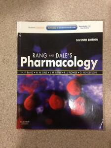 Rang and Dale's Pharmacology Textbook 7th Edition - Like New!
