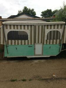 1963 steury pop up camper with tod good shape
