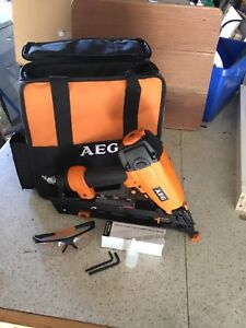 Nail Gun AEG angled finish  nailer 25mm to 64mm Hunters Hill Hunters Hill Area Preview