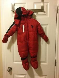 Red U.S. POLO ASSN. Snow suit in 12 mo