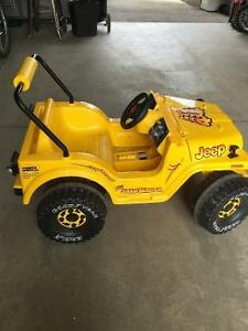 Kid's Power Wheels Motorized Jeep