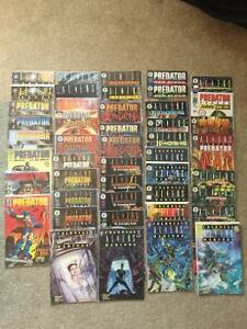 Comic collection of Aliens & Predator