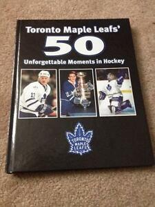 2 TML 50 unforgettable moments in hockey & TML hockey history$25 Cambridge Kitchener Area image 1