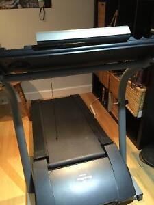 Nordicktrac treadmill and weights