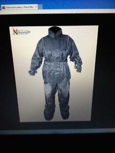 Brand new woman's two piece motorcycle rainsuit