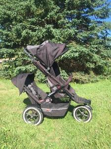 Phil and Teds Inline Double Stroller