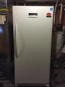 Crosley 21 cu ft white upright frost free freezer