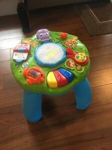 Infant stand up entertainment Center