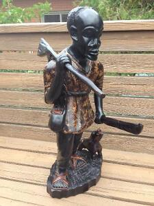Wooden African Statue London Ontario image 3