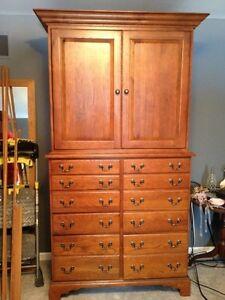 keller solid oak bedroom 4 piece furniture set ebay