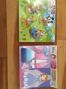 New! Melissa & Doug wooden Disney puzzles Kitchener / Waterloo Kitchener Area image 1