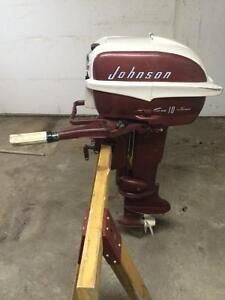 Johnson 10 H.P Outboard Motor