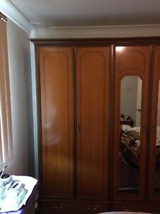 Hardwood Wardrobe Blackett Blacktown Area Preview