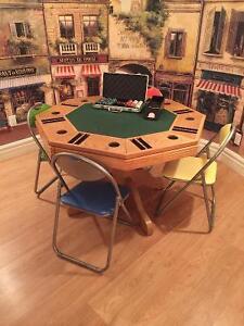 table de poker a vendre