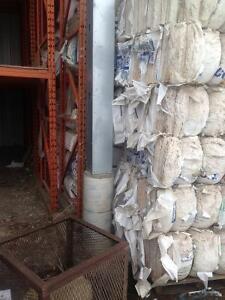 Fiberglass insulation for only $15.00 per bag