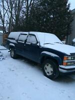 PARTING OUT A SUBURBAN