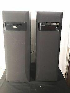 Sony powered speakers