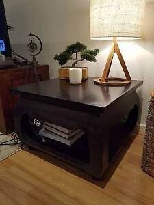 ***** SOLID WOOD SIDE LAMP TABLE***** Ascot Vale Moonee Valley Preview