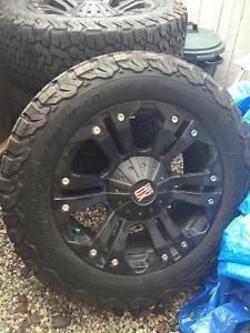 Truck rims & tires