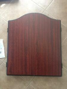 Winmau Dart Cabinet New never used Rosewood