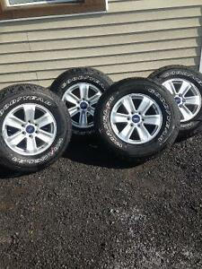 BRAND NEW 2016 FORD F150 ALUMINUM WHEEL PACKAGE