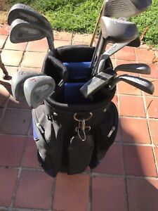 Golf clubs and bag Wacol Brisbane South West Preview