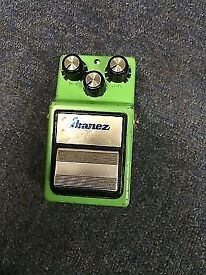 Ibanez Tube Screamer TS9 - Modded reissue with a JRC4558D chip