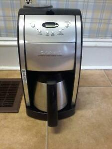 Cuisinart automatic grind & brew thermal coffee maker asking$40