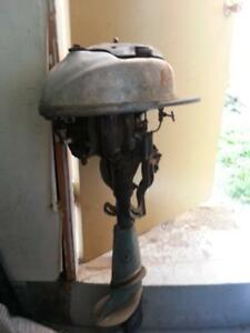 3 old model outboard  motors for sale