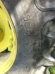 13.6 - 28 and 18.4 - 38 tractor tires Strathcona County Edmonton Area image 4