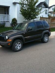 2006 Jeep Liberty Grey SUV, Crossover