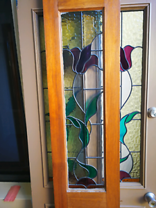 Stain glass door and sides Bilambil Tweed Heads Area Preview