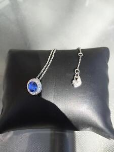 Swarovski Blue Saphire Pendant and matching earring Downtown-West End Greater Vancouver Area image 3