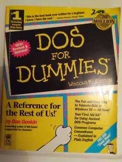 DOS for Dummies Windows 95 Edition $48.00
