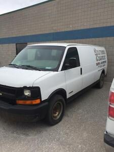 2006 Chevy Express 3500 parts