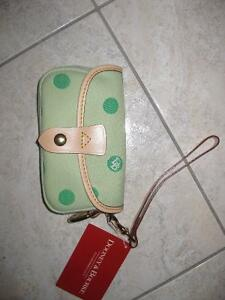 DOONEY & BOURKE Authentic famous Flap Wristlet NEW with tags