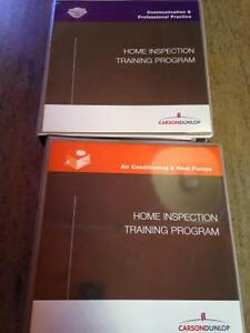 Carson Dunlop home inspection books
