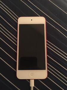 Red iPod touch 5th generation