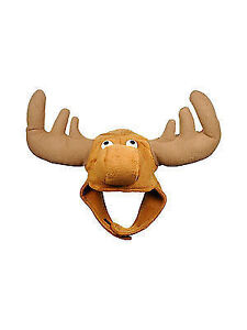 64277806 Funny Sven The Moose Hat Hunting Reindeer Cap Costume Party Accessory  Christmas