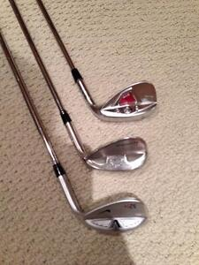 Wedges: Taylormade and Nike