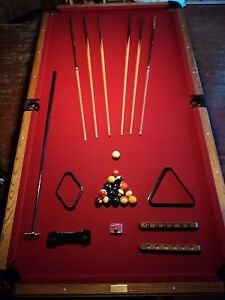 4.5 x 9 Olhausen Pool Table - $1500