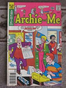 Three Comics from Archie and Me