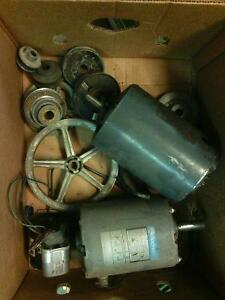 3 workings motor and the pulleys all for $30