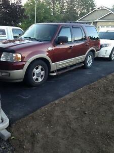 2006 Ford Expedition King Ranch.  Trades considered