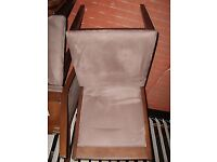 Brown 3ft Table and four chairs
