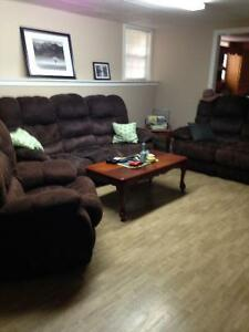 Spacious 2 bedroom basement apartment for rent.