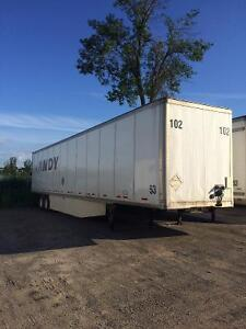 Wabash trailer dry van 53 ft